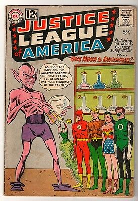DC Comics VG- JUSTICE LEAGUE AMERICA  #11  One hour to doomsday