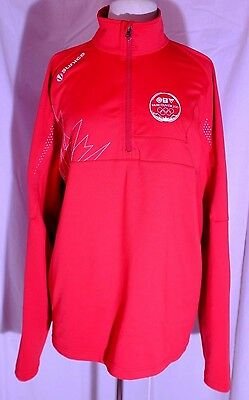 Sunice CTV Vancouver 2010 Olympics Red Media Crew Jacket Size L