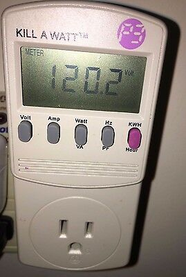 P3 International Kill A Watt Electricity Usage Monitor, Model P4400 - FREE SHIP
