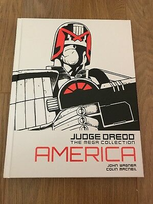 Judge Dredd Mega Collection America  #1