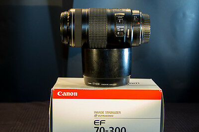 Objectif canon EF 70-300 mm f/4-5.6 is usm