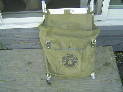 Vintage Boy Scouts of Canada Backpack w/ Canteen & Mess Kit