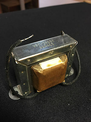 VINTAGE SYLVANIA OEM POWER SUPPLY FILTER CHOKE #V5C26167  L=3.5H, I=70mA