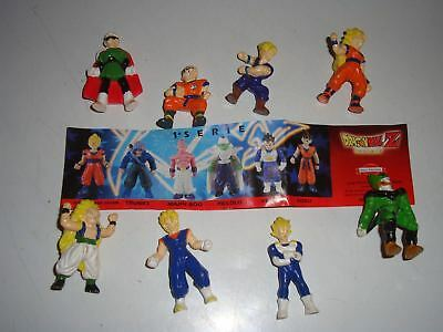 Extra Kinder Ferrero Surprise Dolci Preziosi Figure Cartine Serie Dragon Ball Z