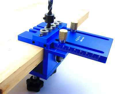 Wood Hole Jig Joinery Drilling Position System For Professional 1 Set