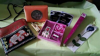 Sequence Mini Elephant Sequence Purse, Satin Gift Box, Mini Incense Set & More!