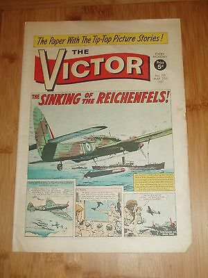 Beaufort Bombers Sink The Reichenfels Ww2  Cover Story  Victor Comic 1967  #318