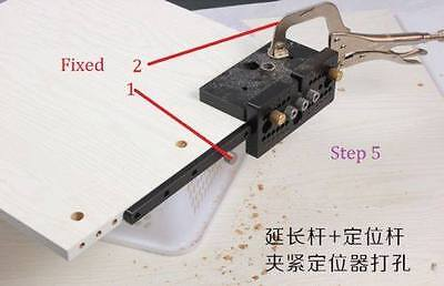 Doweling Jig 3in1,2in1 connector dowelling jig master kit Multi-hole