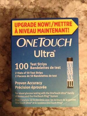 One Touch Ultra Blue Test Strips (NIB x 4 sealed boxes) *400*