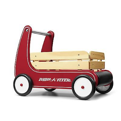 RADIO FLYER CLASSIC WALKER WAGON Boy Girl Toddler Toy Removable Stake Sides NEW