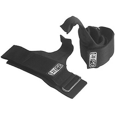 Gofit Nylon Lifting Hooks W/ Neoprene Wrist Support
