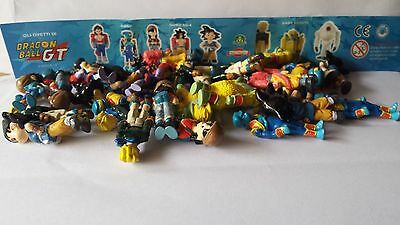 Extra Kinder Ferrero Surprise Dolci Preziosi Figure Cartine Serie Dragon Ball Gt