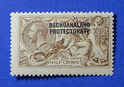 1916 BECHUANALAND PROTECTORATE 2S6d SCOTT# 92a S.G.# 85 UNUSED NH        CS20327
