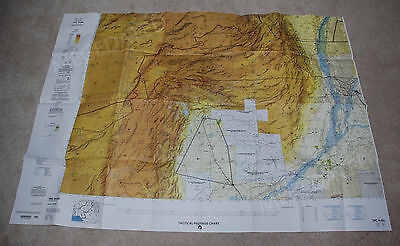 Us Military Tactical Pilotage Chart Tpc H-8A Afghanistan India Pakistan