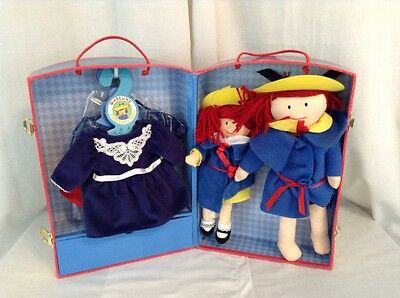 """Madeline 15"""" Doll 12"""" Doll Wardrobe Trunk Outfits Accessories Toy Set Lot"""
