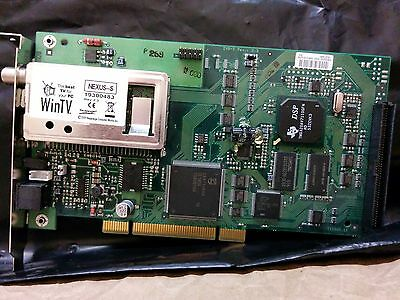 Hauppage WinTV Nexus-S Satellite TV Tuner Card (PCI)