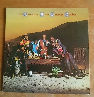 THE CRUSADERS - THOSE SOUTHERN KNIGHTS - Orig UK ABC LP JAZZ/FUNK