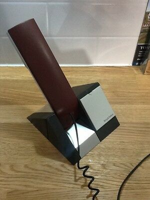 Bang & Olufsen B&O Beocom 1401 Home Phone in dark red with  desk stand