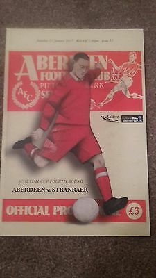 Aberdeen V Stranraer Scottish Cup 2016-17