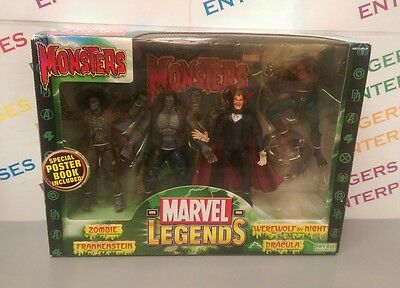 Marvel Legends Monsters Collection Box Set NEW & Boxed, Box Tatty, RARE