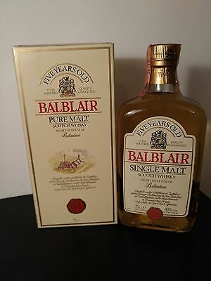 Blablair Scotch Whisky  Pure Malto Five Years Old