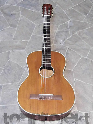 great old 3/4 Classic guitar all solid vintage quality guitar 1950` Germany