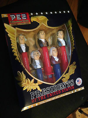 PEZ Education Series Volume I: 1789-1825 PRESIDENTS OF THE UNITED STATES Vol 1