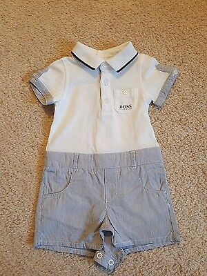 Hugo Boss, Baby Full Suit, Age 3-6months, New, Very Rare Unique Piece!