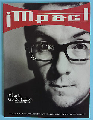 Impact Magazine April 1994 Elvis Costello Afghan Whigs