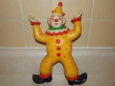 Vintage Clown Ceramic Nursery Wall Hanging  Children's room Circus