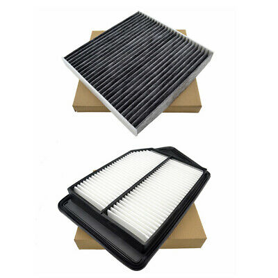 Combo Set Engine & Cabin Air Conditioning Filter for Honda Accord 2.4L 2013-2018