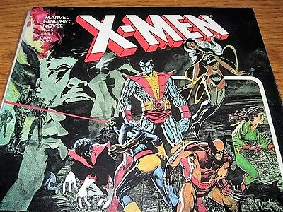 X-Men God Loves Man Kills Gn Marvel Claremont Vf/nm 1St Print