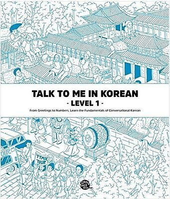 Talk To Me In Korean Level 1 (Downloadable Audio Files Included) Paperback UK