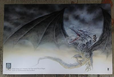 George R. R. Martin THE ICE DRAGON Print Poster 11X17 Inches (Art by Luis Royo)