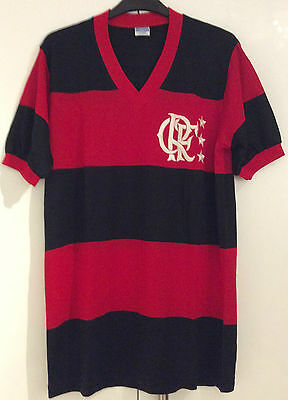 Flamengo Brazil Brasil Ultra Rare 1981 Football Shirt Jersey Camiseta (Size XL)