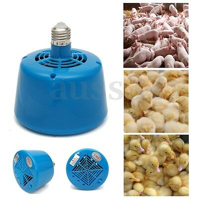 E27 220V 100-300W Cultivation Heating Lamp Thermostat For Livestock and Ppoultry