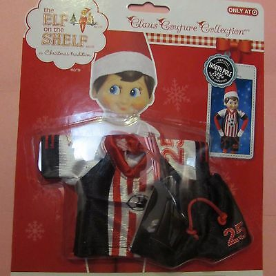 Elf on the Shelf Spirited Soccer Set Outfit Jersey Pants Clothes New in Package