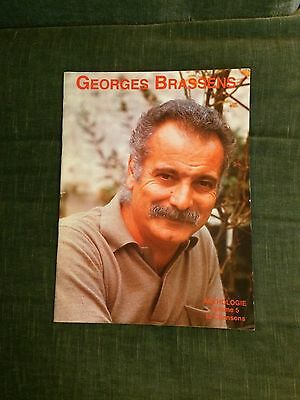 Georges Brassens Anthologie volume 5 partition score chant piano accords