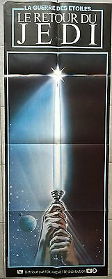 Affiche LE RETOUR DU JEDI Return of the Jedi STAR WARS Mark Hamill 60x160cm