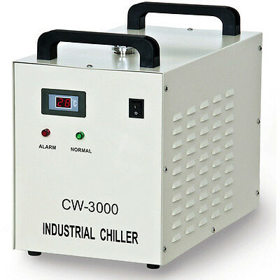 industrial water cooler CW-3000AG for 80W laser cutter/engraver or CNC spindle