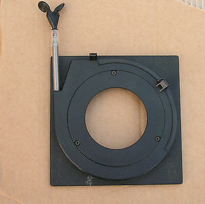 original Sinar top hat 10mm  lens board panel for  copal compur 3 shutters  65mm