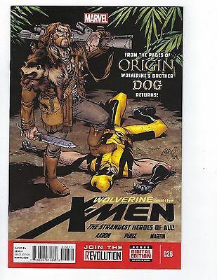 Wolverine and the X-Men # 26 Regular Cover 1st Print Marvel NM X-Men
