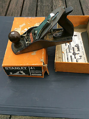 Stanley 4.1/2 Smooth Plane 2.3/8In 10 1/4 260mm x 60mm VINTAGE; BOXED