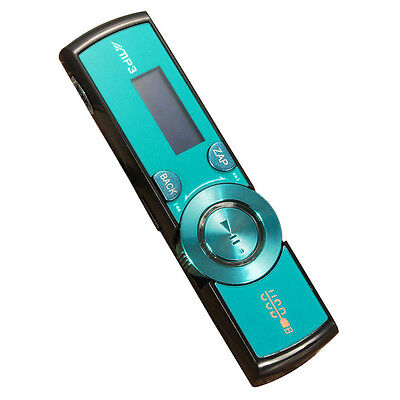 LCD USB MP3 Player FM Radio Player Support 16GB Micro SD / TF Card With Hea O7Y4