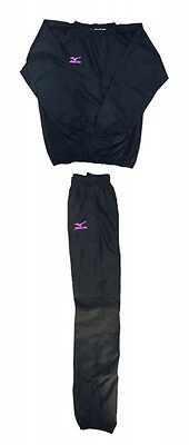 mizuno Sauna suit Prize fighter specifications Black x orchid bird pink
