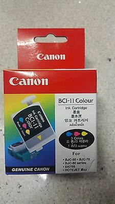 Genuine Canon Colour Ink Cartridge BCI 11, BJC-50 Series, BJC-70, BJC-80 Series