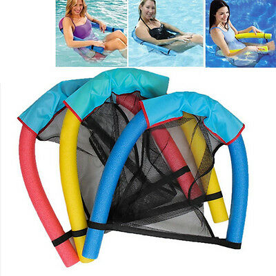 Noodle Pool floating Tubes Upthrust Chair Swimming Seat Bed Buoyancy Stick