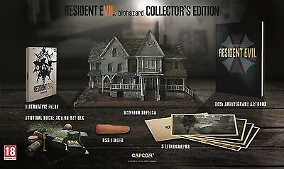 Resident Evil Vii 7 / Collector's Edition (Baker's Mansion) / French Version
