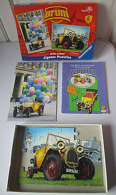 12 Piece Jigsaw Puzzle Brum and the Kite Book Paperback Very Good Clean Cond.