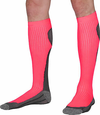 More Mile R2R Compression Ladies Running Socks - Pink